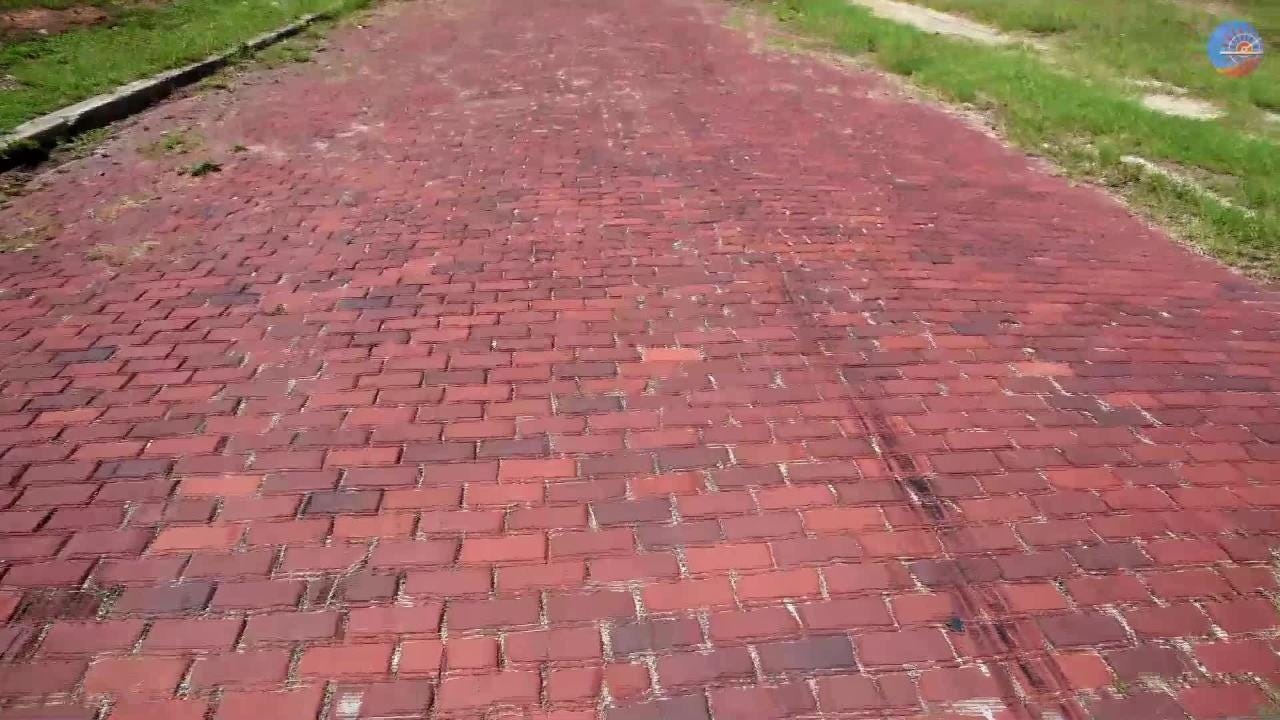 Discover Shreveport's last remaining brick road with Gary Joiner.