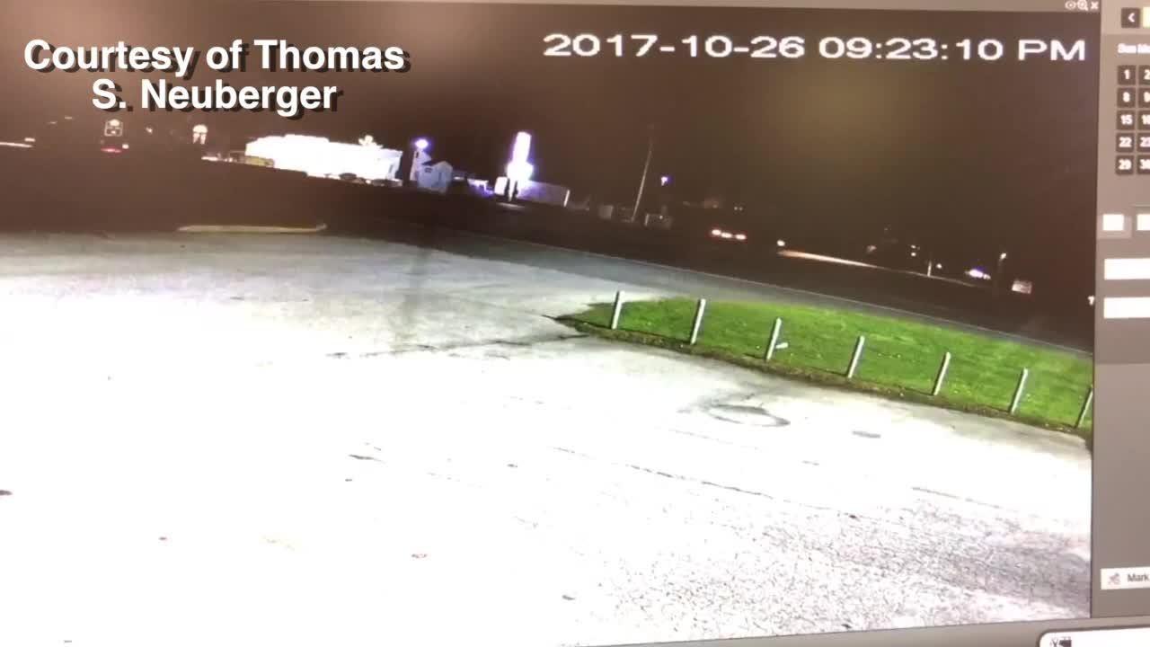 Raw Video: Maryland crash kills Joseph Neuberger