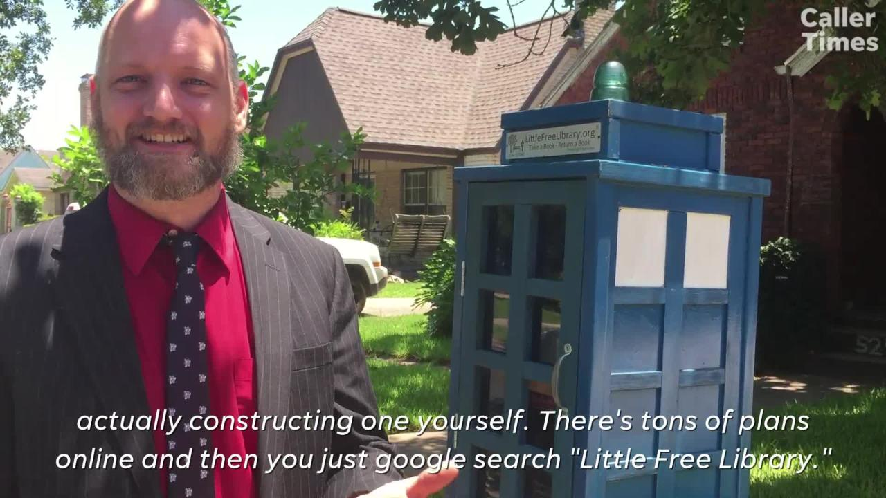 How to start your own Little Free Library, a community non-profit aimed at increasing literacy.