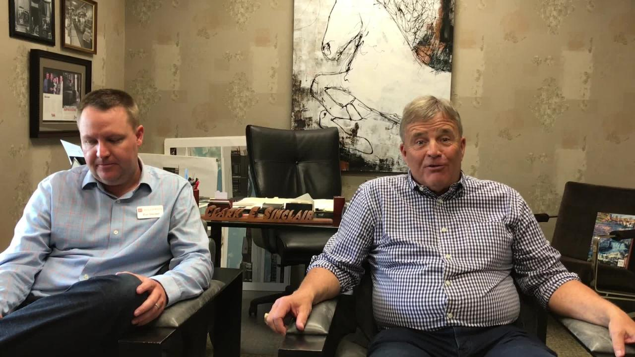 Clark and Eric Sinclair, co-owners of Montgomery's talk about the South Dakota business' history and how it stayed in business for so long. Montgomery's is celebrating 130 years.