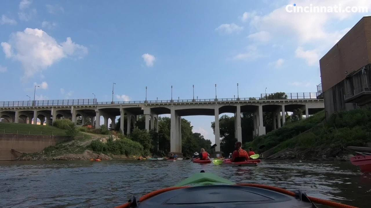 Take a timelapse tour of a portion Cincinnati's Mill Creek during the 2018 Paddlefest.
