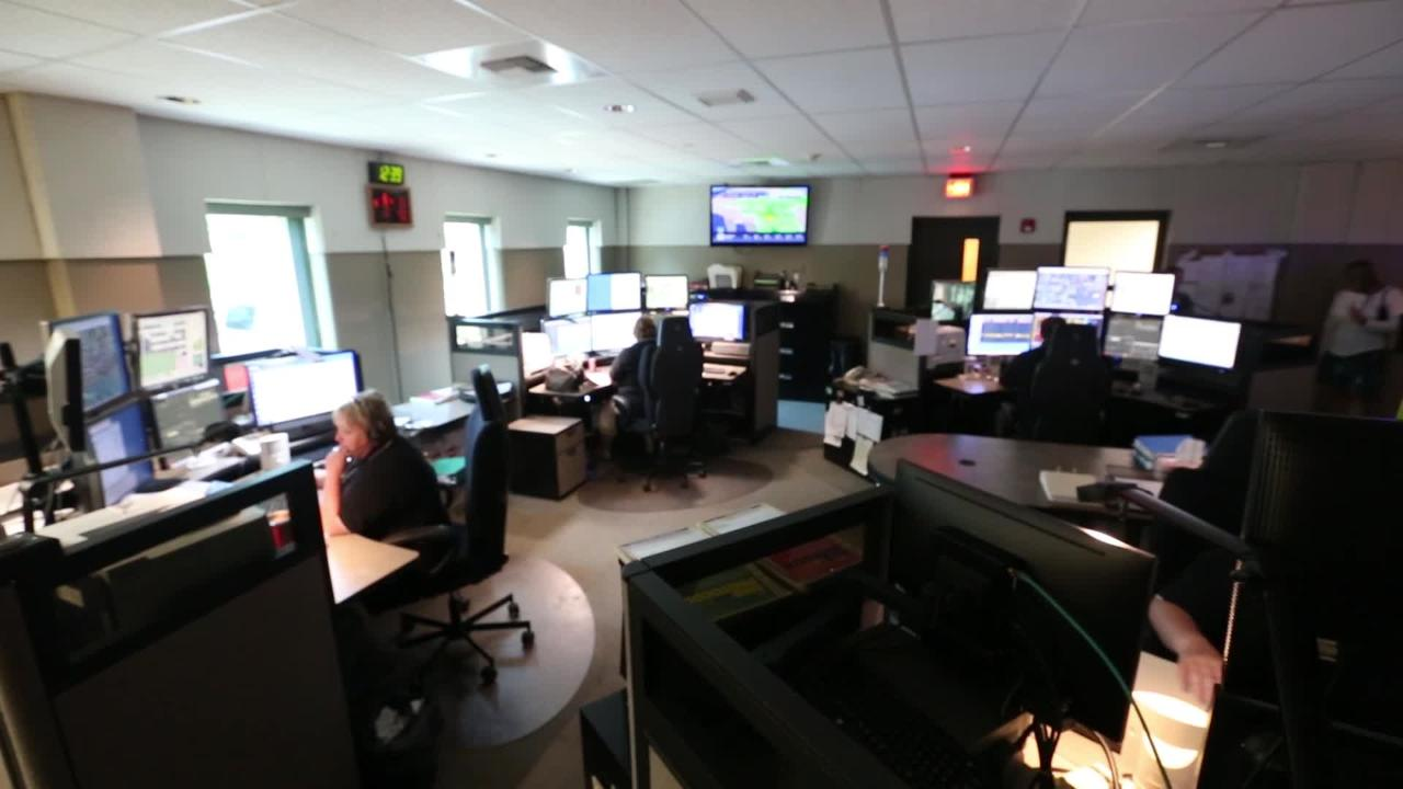 A look inside the 911 dispatching center for Fond du Lac County and City.