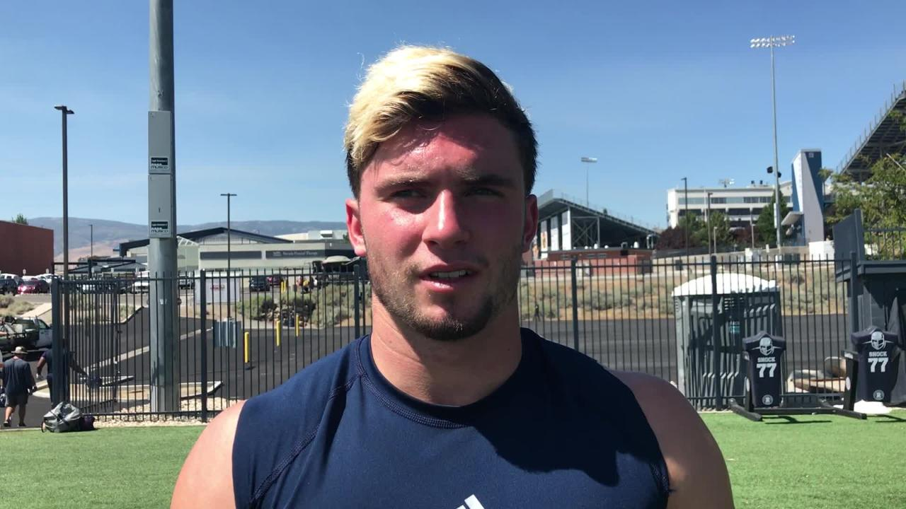 Nevada receiver McLane Mannix discusses the Wolf Pack's talented receiving corps.