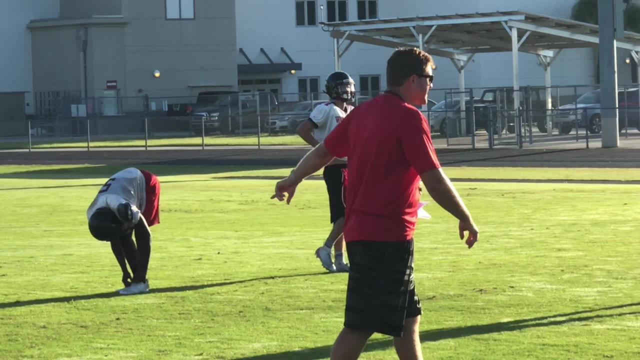 South Fort Myers kicked off the second week of fall camp at 6:30 a.m.