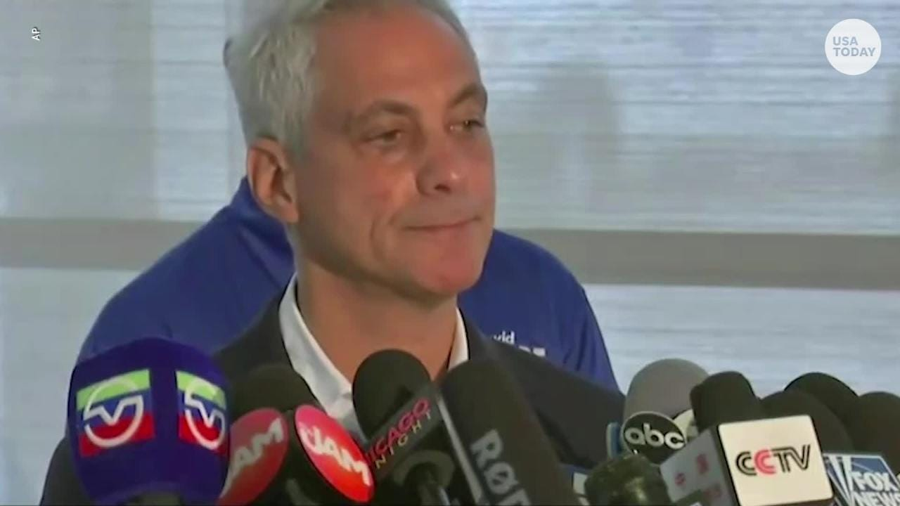 Chicago mayor blames violence on 'too many guns   shortage of values'