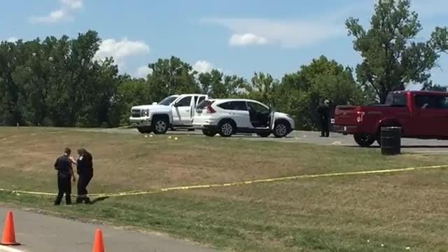 A shooting happened Monday afternoon at the Stoner Boat Launch.
