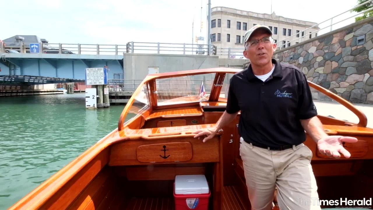Hale Walker shares some of the history of his 1961 Chris Craft Sea Skiff.