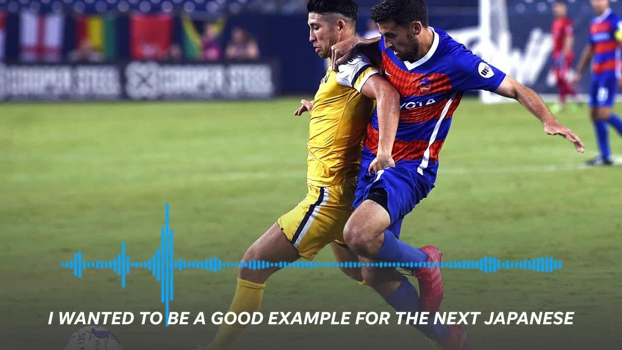 Kosuke Kimura discusses being the first Japanese-born MLS player in Japanese with the Tennessean's Souichi Terada.