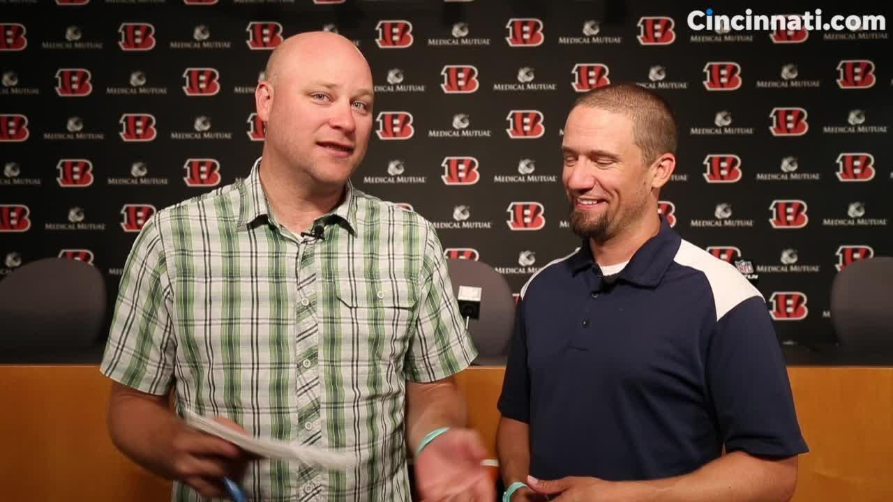 Enquirer beat writers Paul Dehner Jr. and Jim Owczarski kick off the final week of Cincinnati Bengals training camp ahead of pre-season game one vs. the Bears.
