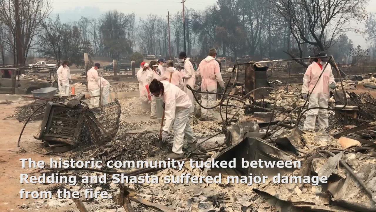 The town proper of Keswick was completely destroyed by the Carr Fire last week.