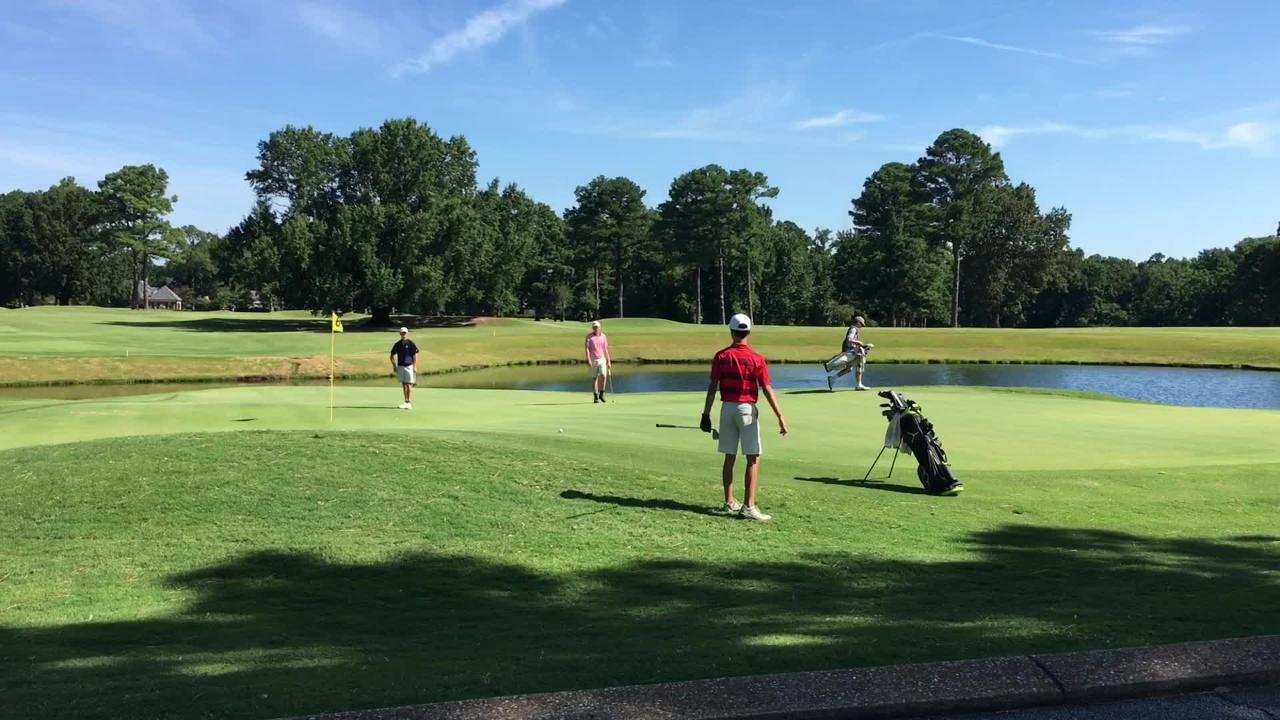 Action from the 2018 Fellowship of Christian Athletes Golf Invitational at Jackson Country Club on Aug. 6, 2018.