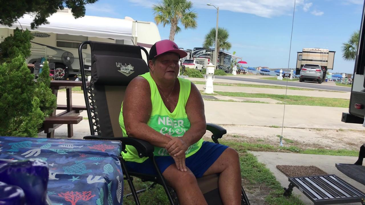 For many, a Pensacola Beach vacation means high-price condos and hotels. But some visitors roll their portable homes to Pensacola Beach RV Resort.