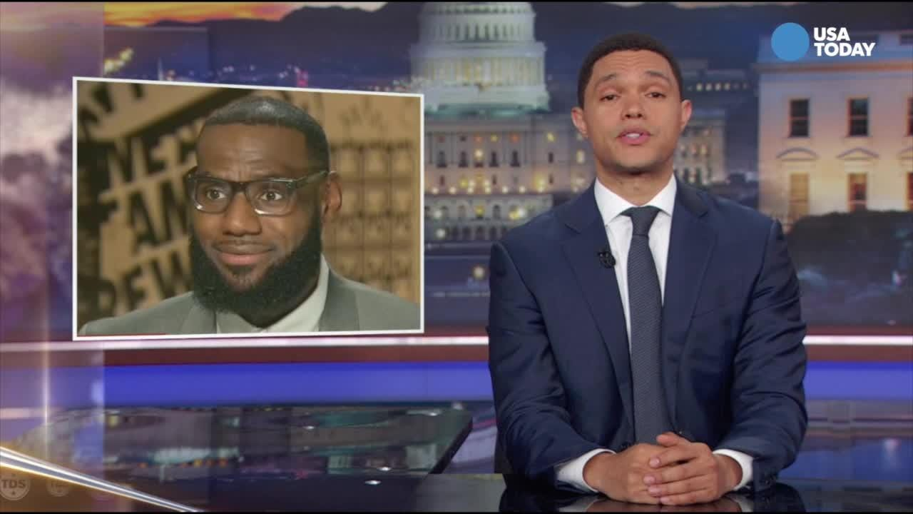 After the LeBron James feud, late-night comic Trevor Noah wonders what's taking the president so long to get to him.