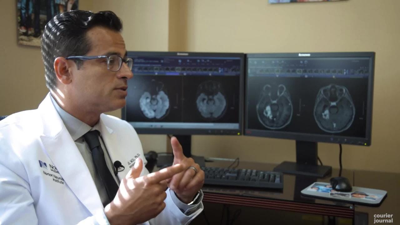 Dr. Shervin Dashti, a neurosurgeon at Norton Healthcare, is investigating a new technique to fight a rare disease: radiation necrosis.