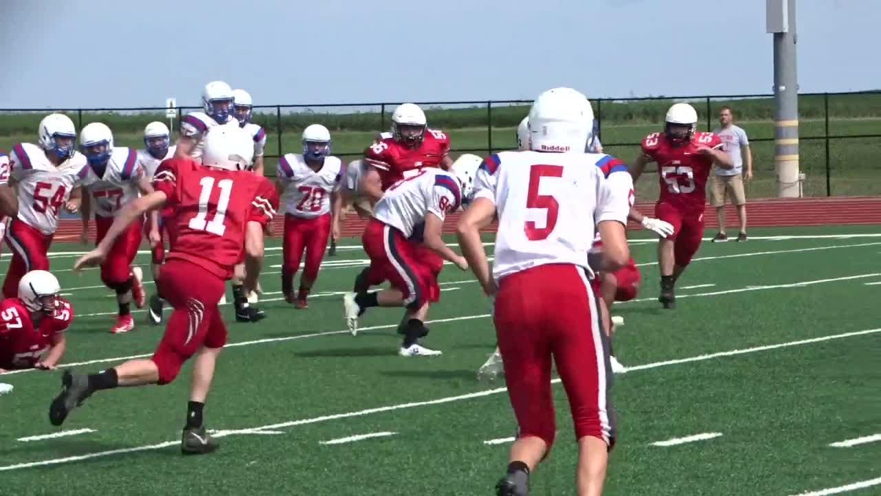 Lakewood hosted Liberty Union and Logan Elm on Tuesday for the first scrimmage of the preseason.