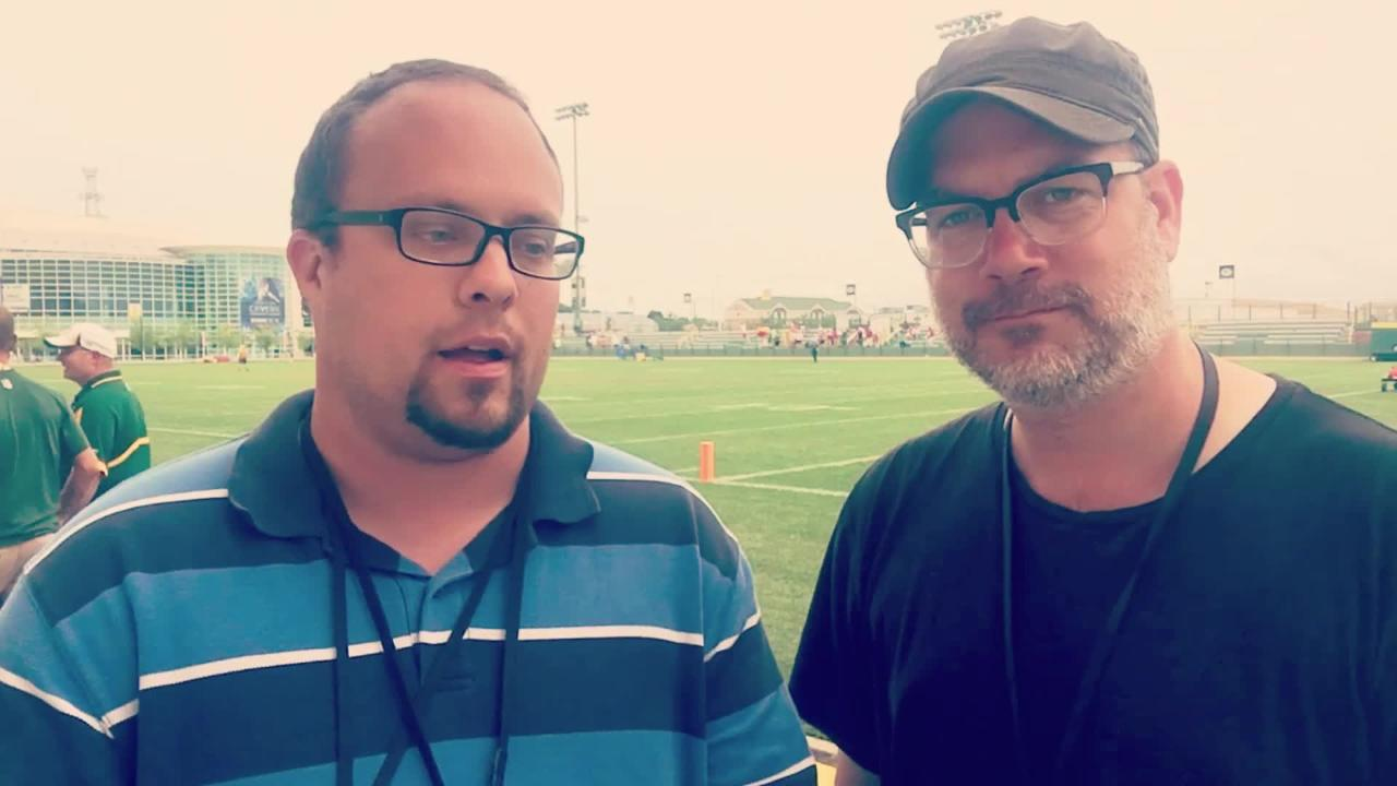 Ryan Wood and Aaron Nagler talk biggest takeaways from Tuesday's practice.