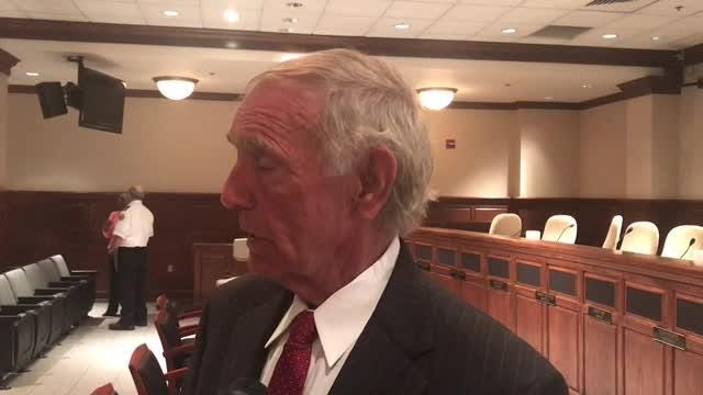 Comments from Mayor Jerry Gist and the lead contractor after Tuesday's Jackson City Council meeting