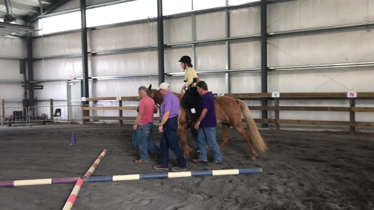 The Therapeutic Riding Center South Jersey has expanded into its own facility at DREAM Park in Logan Township