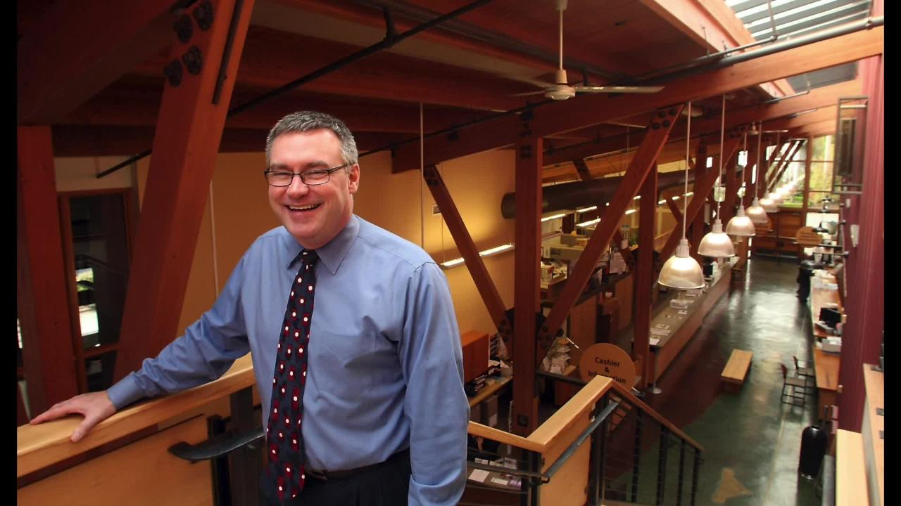 AUDIO: Doug Schulze, Bainbridge Island's city manager since 2012, is resigning to take a new job in California.