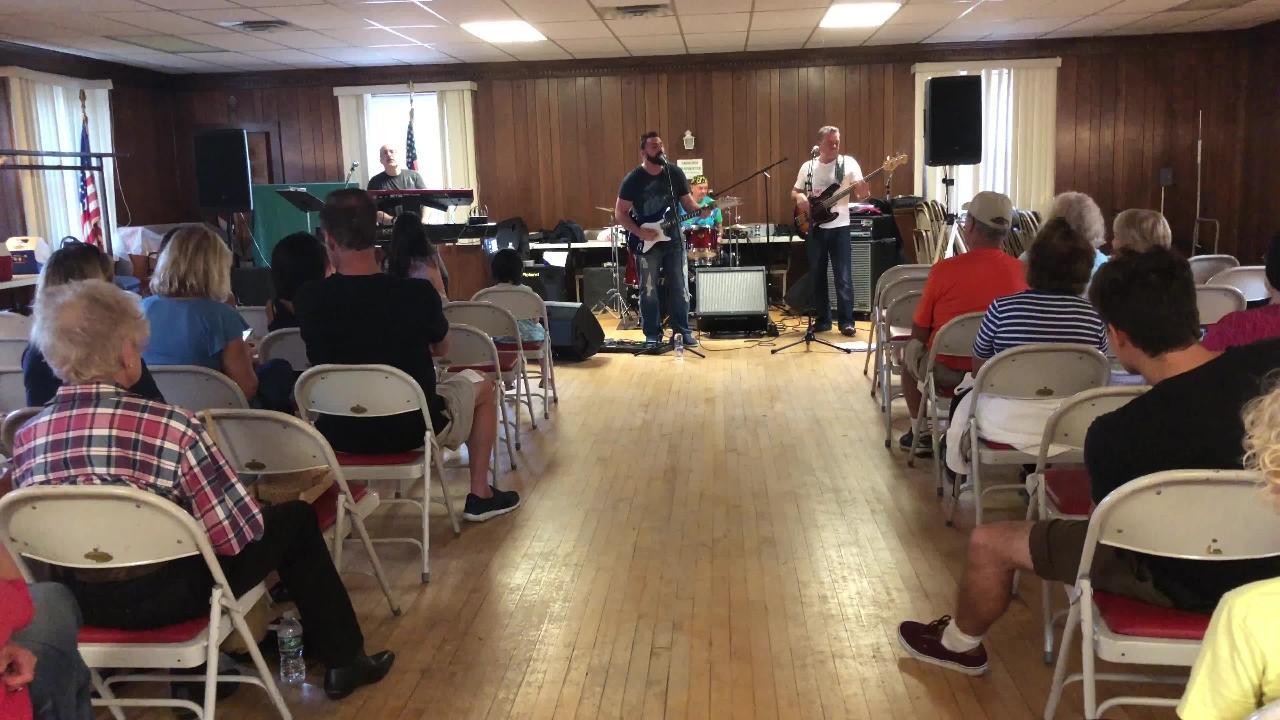 The New York Hitmen perform in Old Tappan