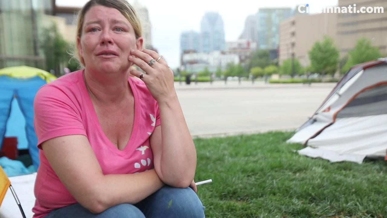 Homeless woman talks about why she hasn't stayed at shelters