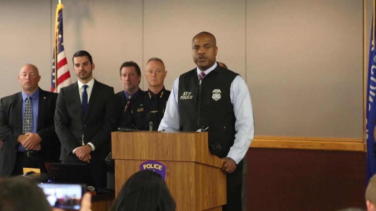 Local authorities announce large cocaine ring bust involving 16 arrests and 127 pounds of cocaine.