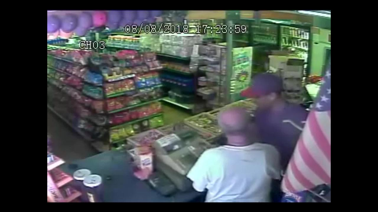 Two men robbed a Monson liquor store Wednesday afternoon. Deputies are asking for the public's help in locating the suspects.
