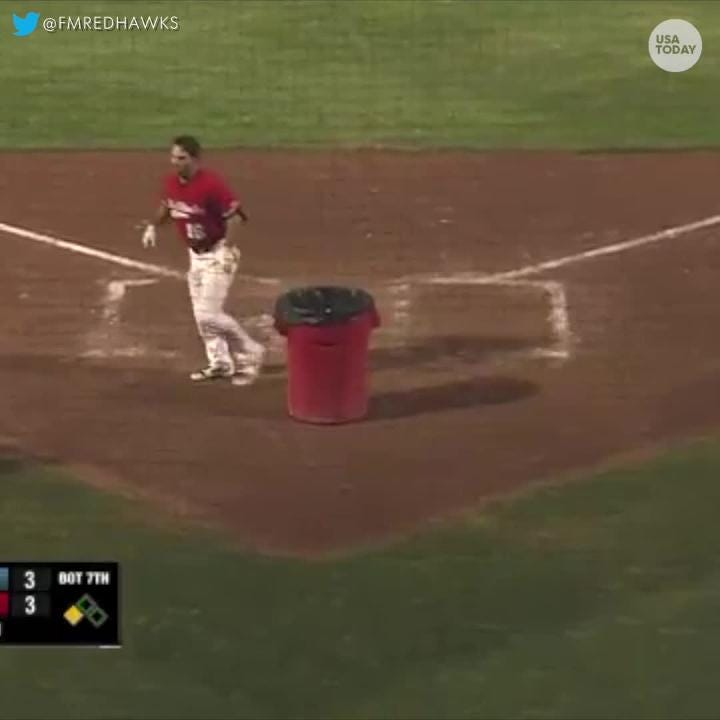 Outrageous tirades on consecutive days in an American Association of Independent Professional Baseball series between the Chicago Dogs and the Fargo-Moorhead Redhawks led to hilarious ejections.