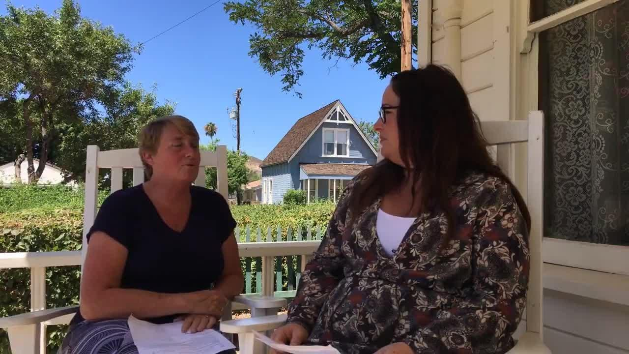 "Ventura County Star Consumer Experience Director Michelle Rogers interviews ""Never 30"" podcast host Andrea Howry about the Ventura County history podcast."