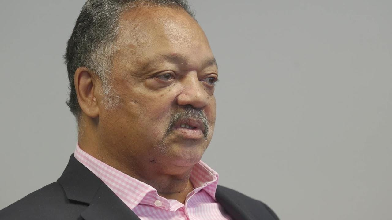 Civil rights activist Rev. Jesse Jackson sat down with the azcentral editorial board to discuss current events on Wed. Aug 9, 2018.