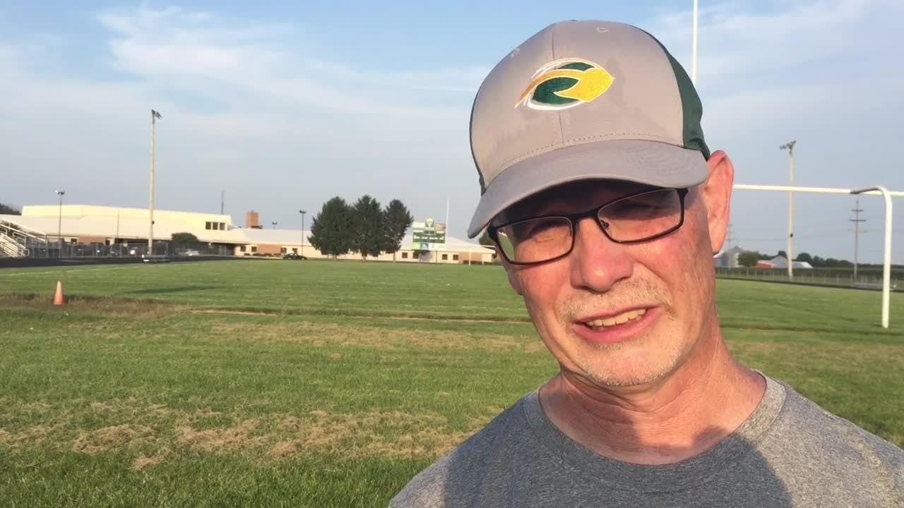 Northeastern High School football coach Mike Roeder talks about the upcoming 2018 season