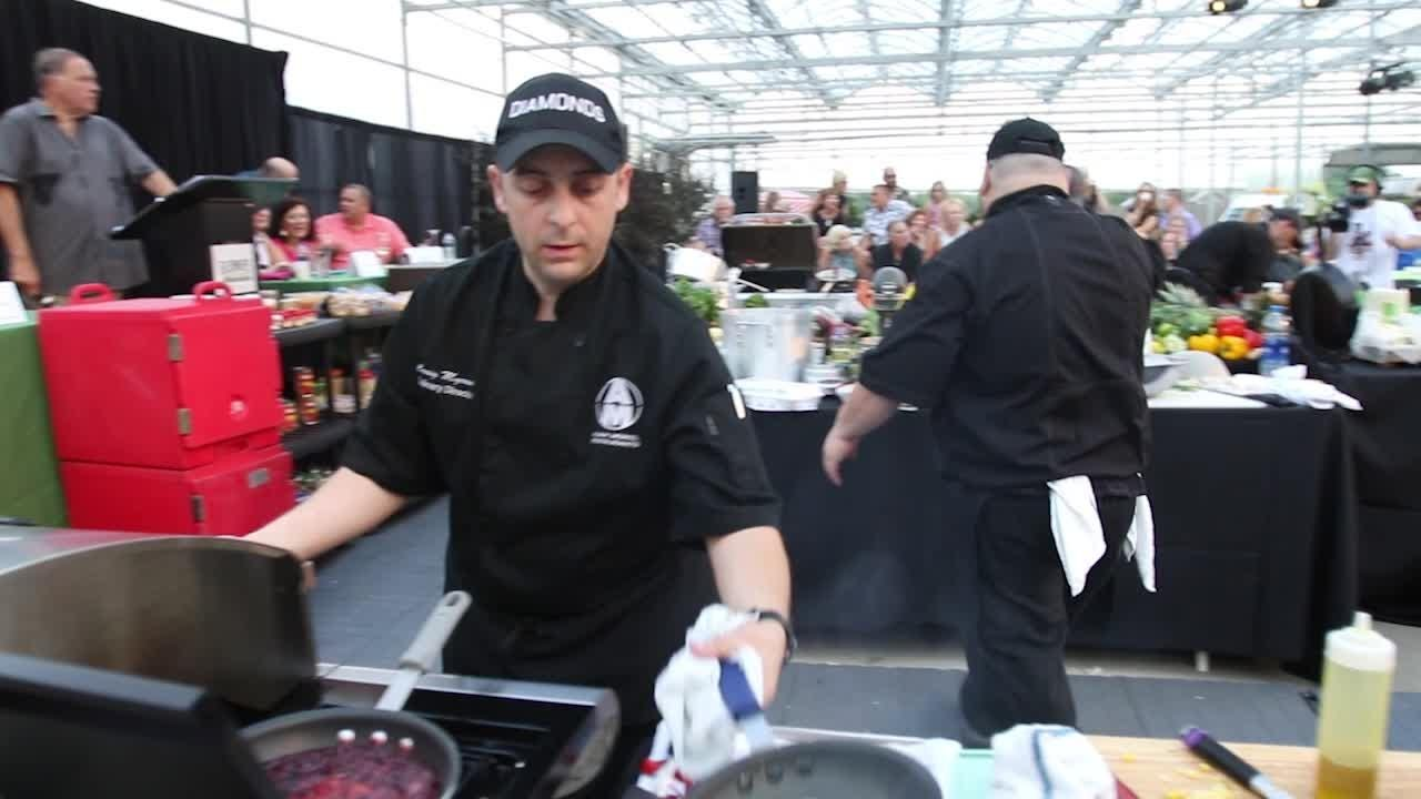 Gleaners Iron Chef Competition benefits Gleaners Community Food Bank of Southeastern Michigan and pits two local prominent chefs against one another.