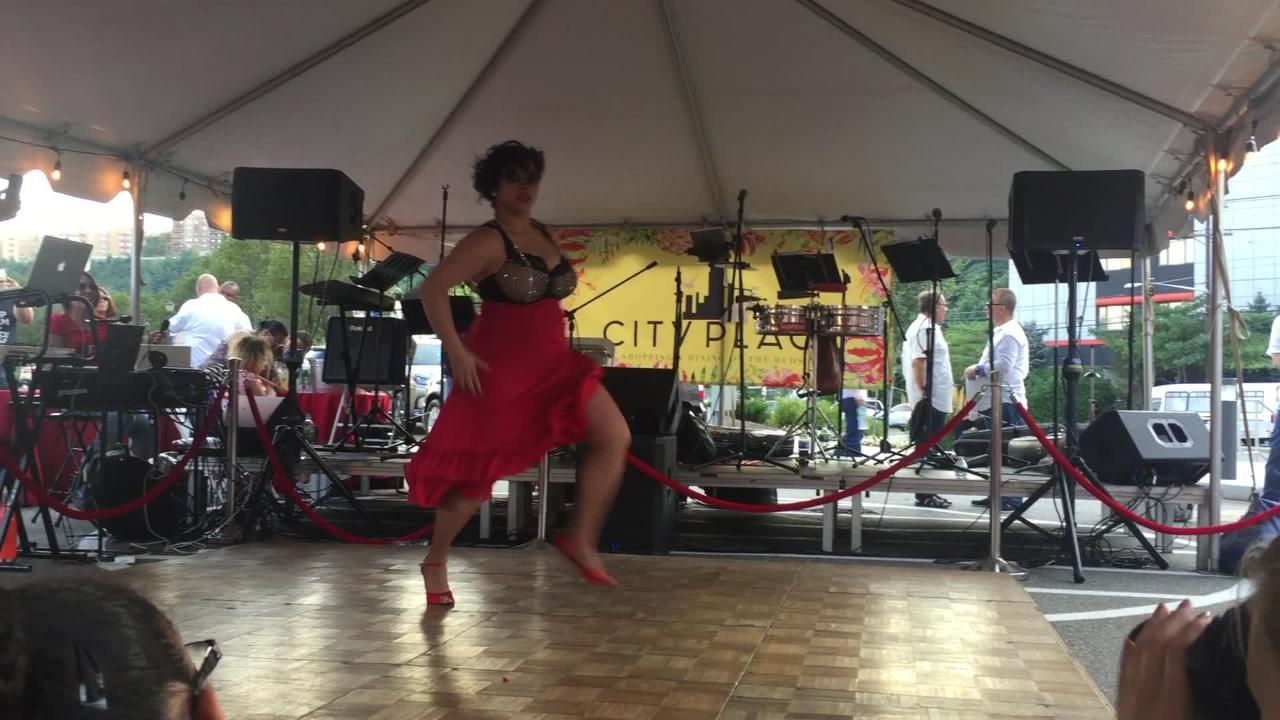 City Place held its 2018 Salsa Night in Edgewater.