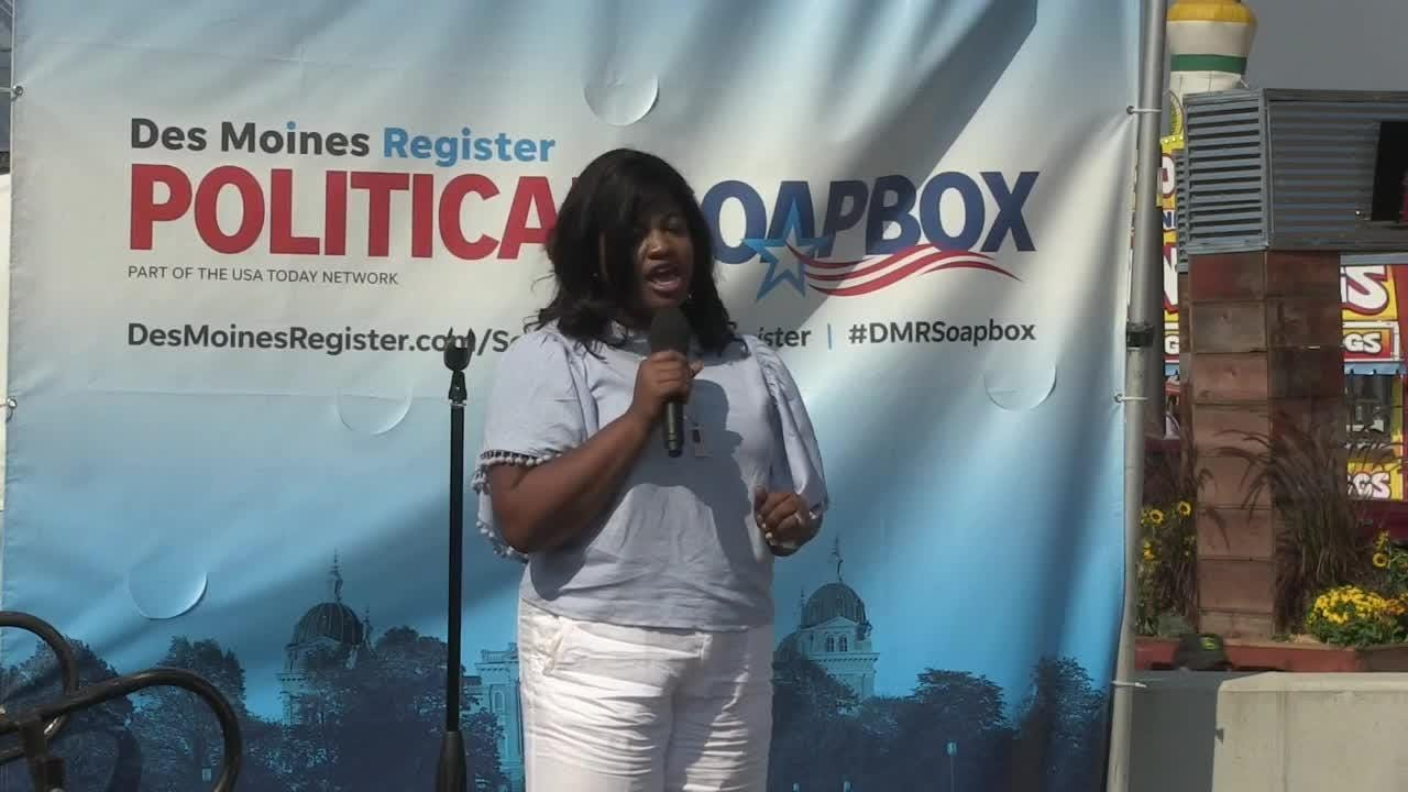Des Moines Register Political Soapbox: Democrat Deidre DeJear, candidate for Secretary of State