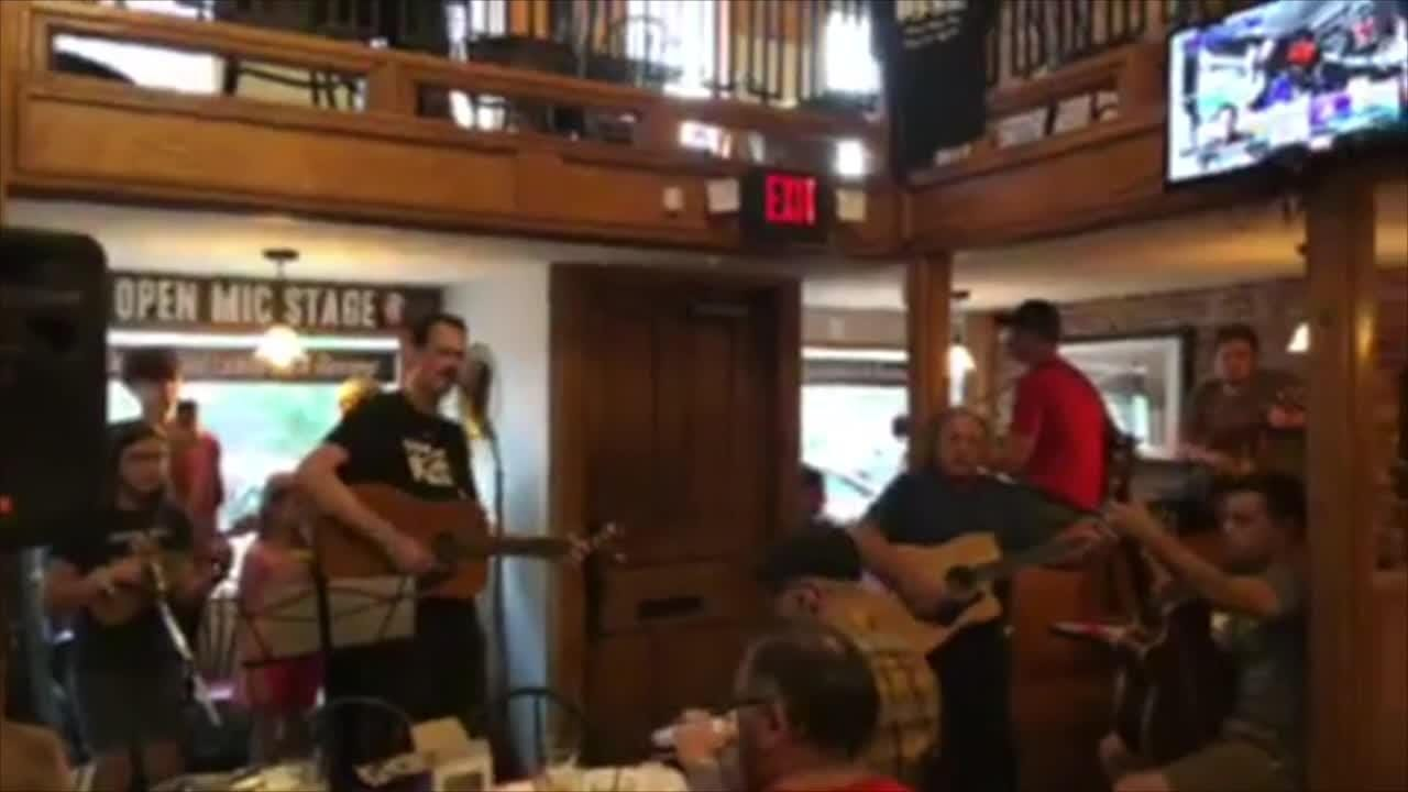 "Eric Peacock closed his July 31 open mic set with ""I'll Fly Away."" The next day he was killed in a hit-and-run crash. On Aug. 7, friends paid tribute."