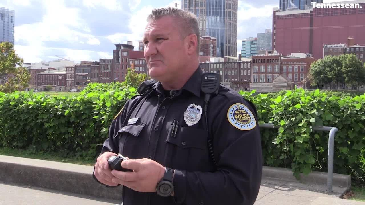 Back in January 2018, metro police officer Samuel Johnson showed the body cameras the city is testing
