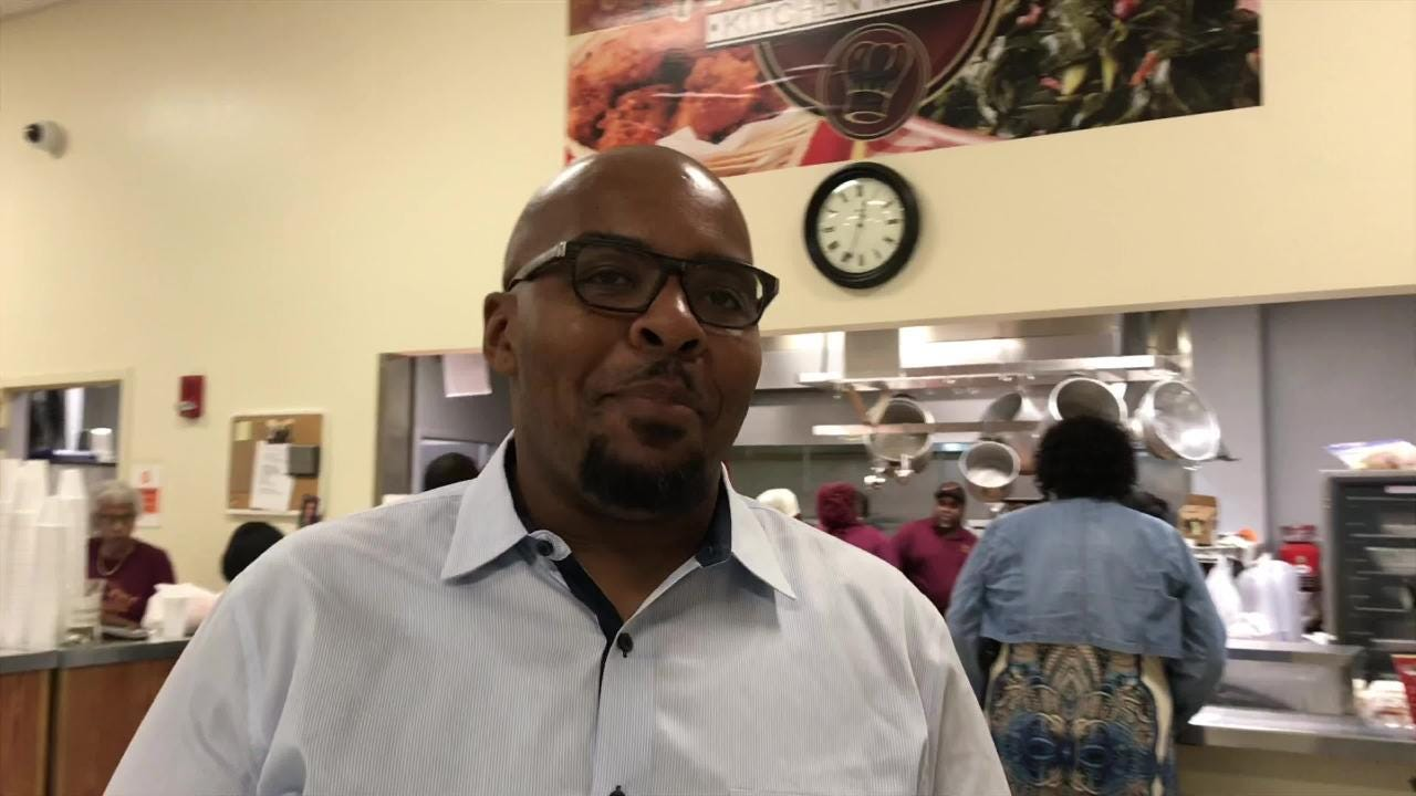 Englewood Baptist Church's All In One Kitchen Ministry has built up a loyal customer base serving fresh, home-cooked meals.