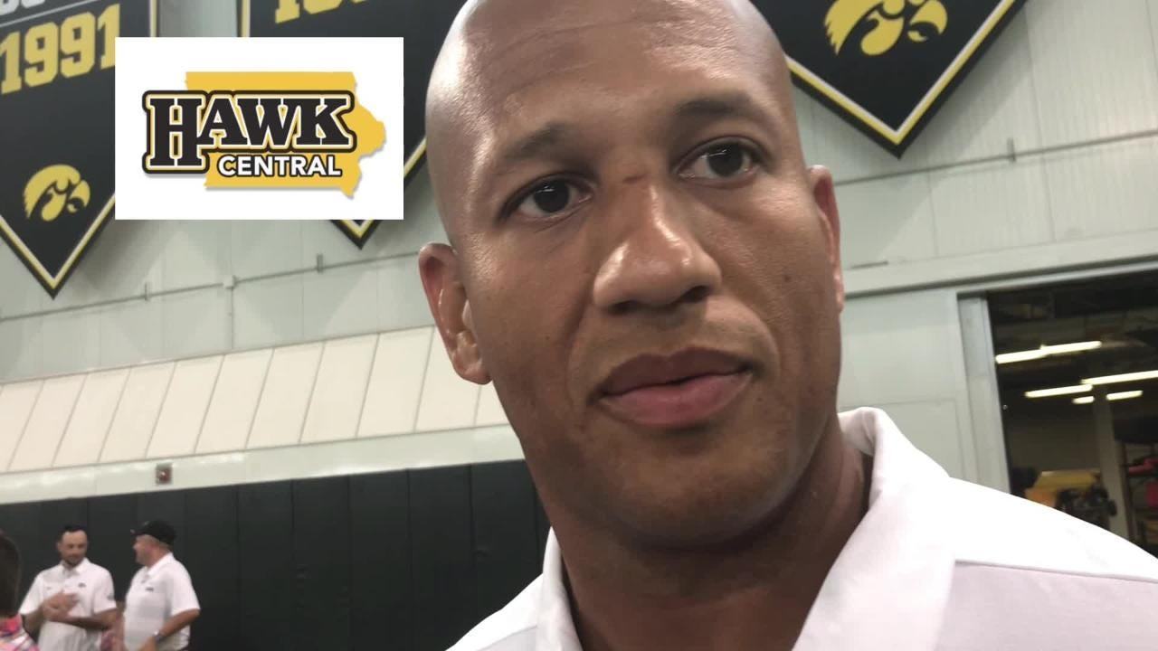Iowa special teams coach LeVar Woods says there are four kick returners in the competition and details what he's looking for