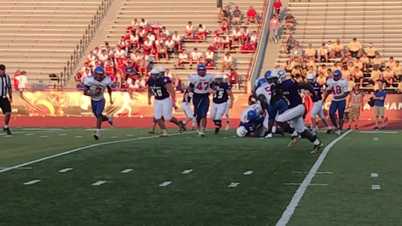 Clarksville football programs compete in TOA Jamboree