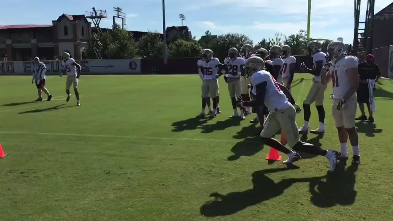 Watch it: FSU practice sights and sounds Aug. 11