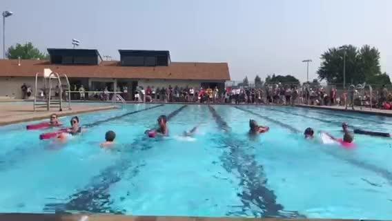 Sioux Falls girl, 6, making waves on national triathlon scene