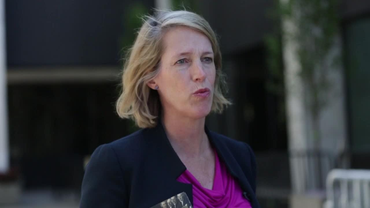 Zephyr Teachout stopped in Rochester on Sunday, Aug. 12 to talk about how she will take on corruption if she becomes New York's next Attorney General
