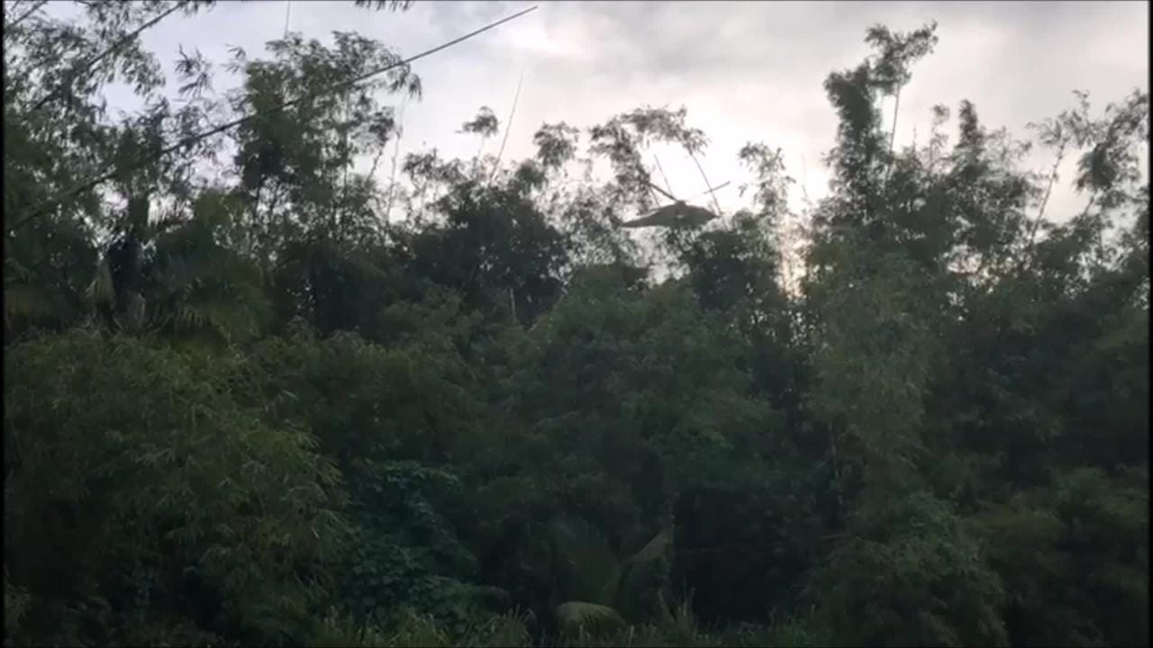 Helicopter hovers over Leo Palace area in search of 15-year-old Xavier Akima