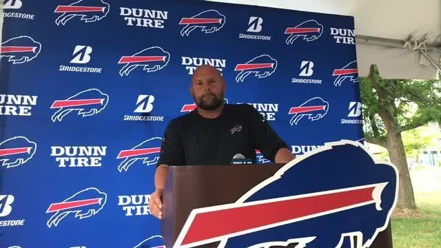 Offensive coordinator Brian Daboll talks about the Bills first preseason game
