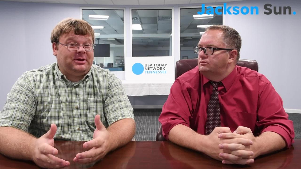 Jackson Sun editor and sports writer Brandon and Michael discuss high school football week 1 game of the week.