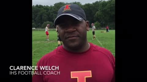 Ithaca High School student athletes are preparing for the games they will be playing in the 2018 football season.