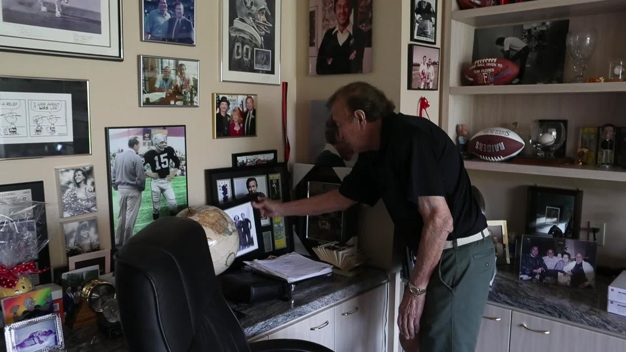 Tom Flores talks about Raider football past and present.