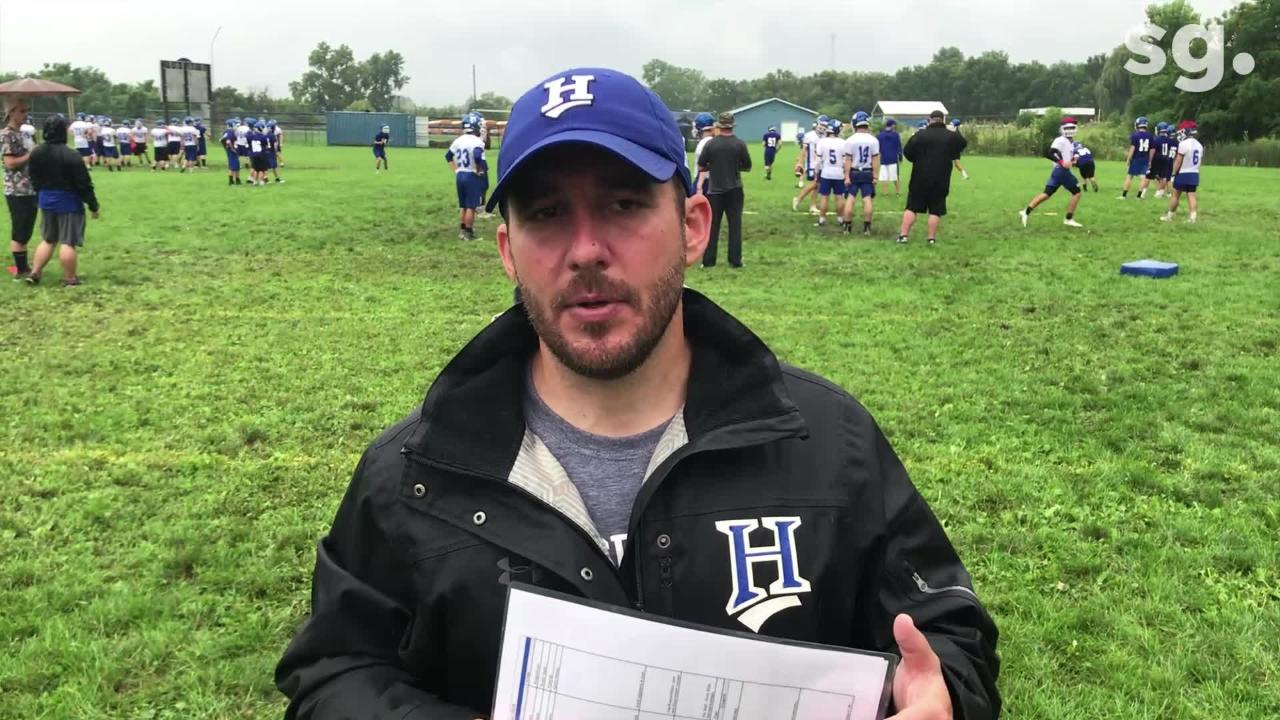 Despite the rain the Horseheads Blue Raiders have high hopes for their run to the Section 4 playoff tournament.