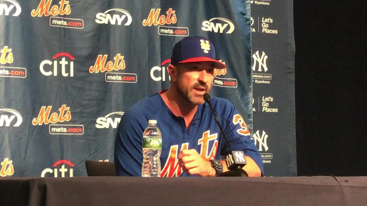 Mets' manager Mickey Callaway talks about why the club won't limit ace Jacob deGrom's innings through the rest of the season.