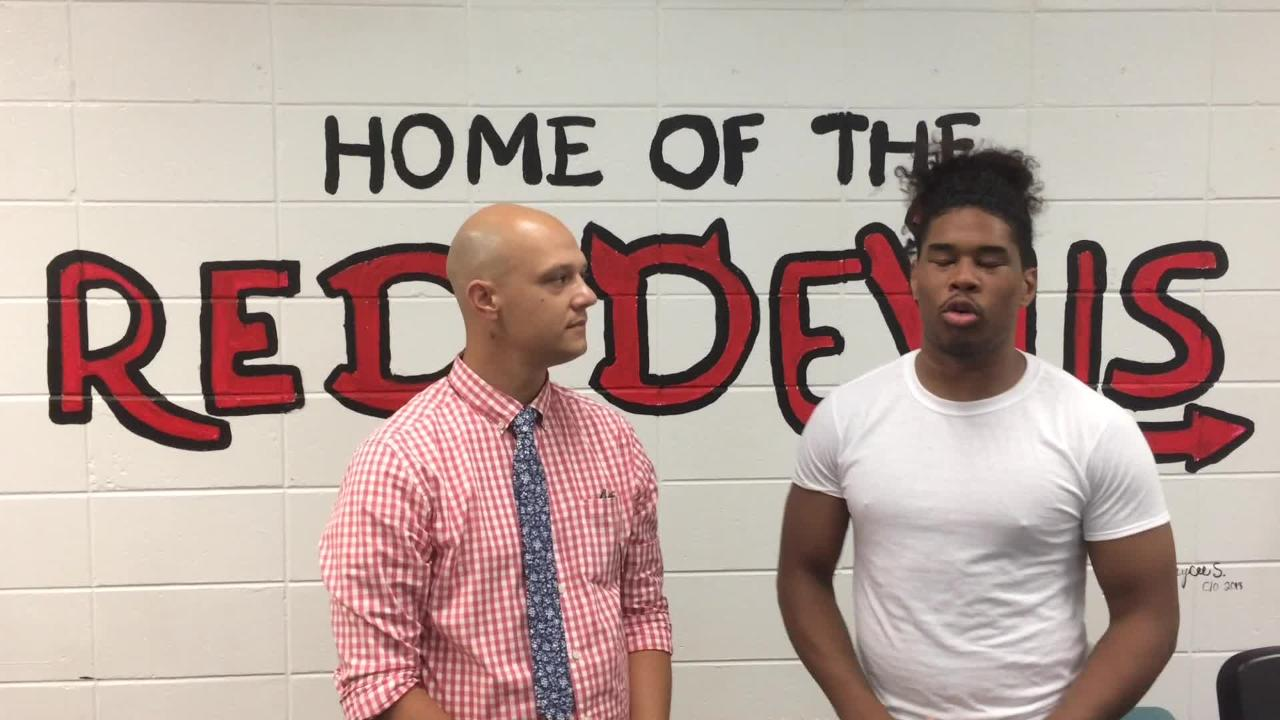 Red Devils' star speaks about 2018 season with Courier Post reporter Mark Trible.